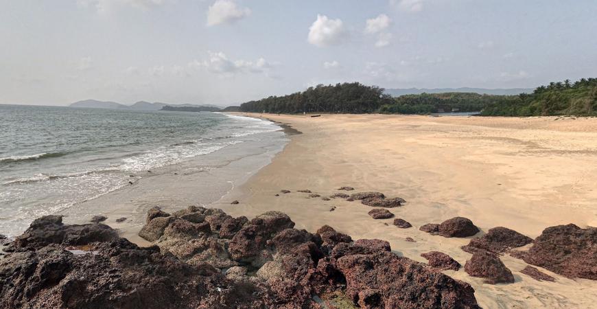 Пляж Галджибага в Гоа