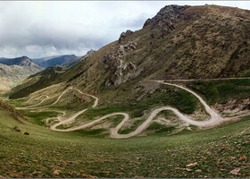 В краю Небесных гор_Вместо предисловия... Киргизия