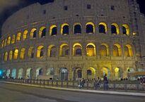 Ночная подсветка Колизея