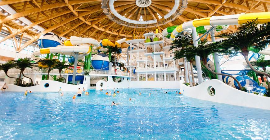 Аквапарк Новосибирска «Аквамир»