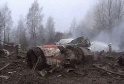 Президент Польши погиб в авиакатастрофе под Смоленском