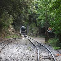Калаврита, зубчатая железная дорога