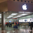 Фирменный магазин Apple в Милане