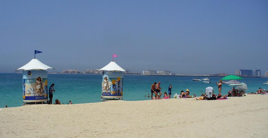 Пляж Jumeirah Beach Residents