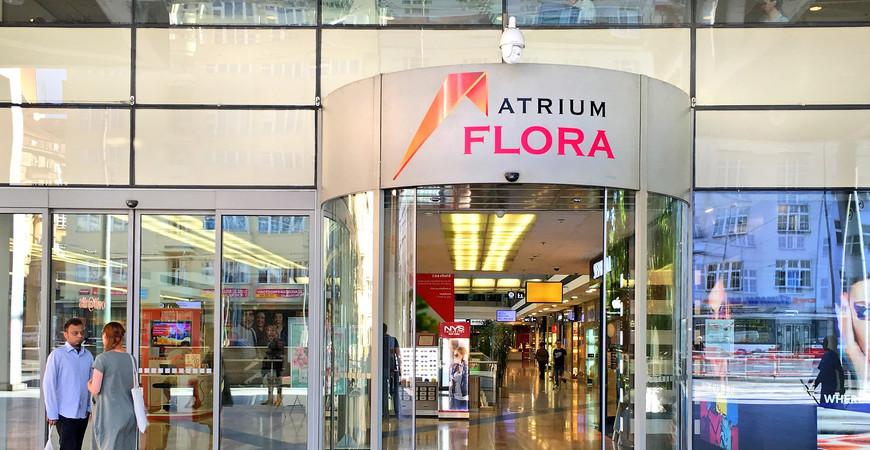 ТЦ Атриум Флора в Праге (Atrium Flora)