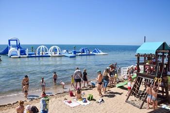 В Евпатории появился уникальный детский пляж