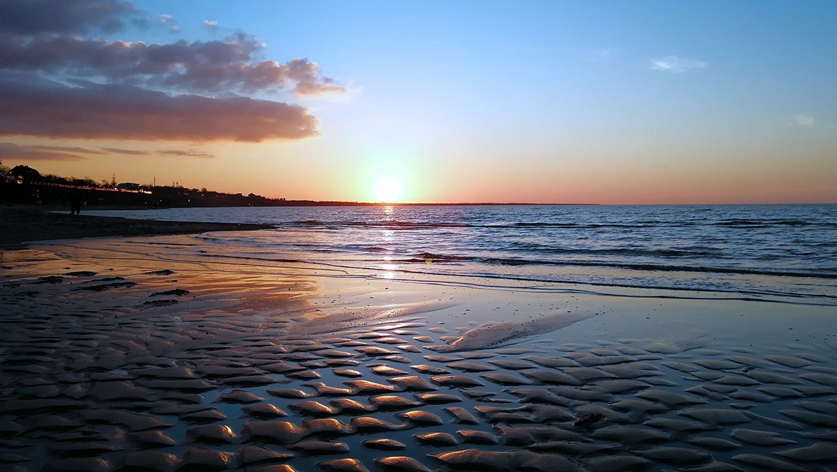 таганрогский залив пляжи фото ейск часто снимают