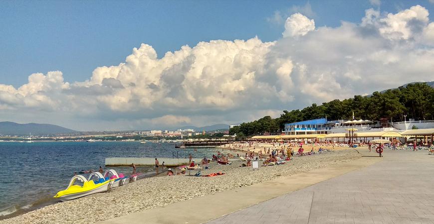 Пляж санатория «Красная Талка»
