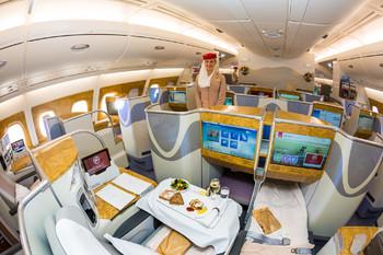 Из салонов самолётов Emirates уберут иллюминаторы