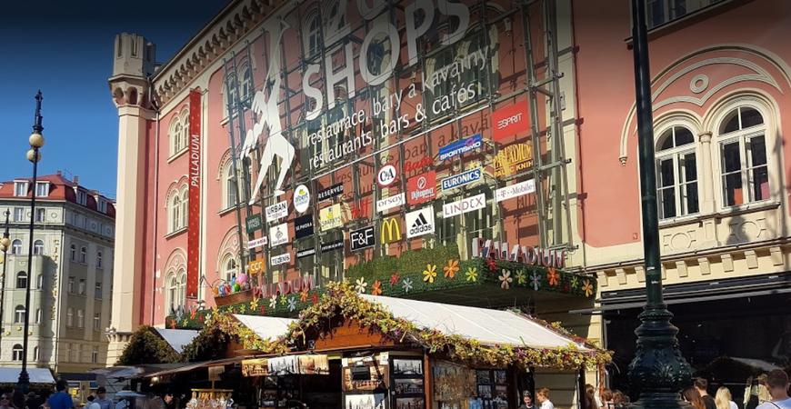 2794291d539d Торговый центр Palladium, Прага (Палладиум). Магазины, фото, видео, как  добраться, отели рядом – Туристер.Ру