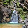 Водопад из золотоносной горы на стыке Таиланда и Бирмы. У тайцев - это заветное место. Но они тут только по выходным.