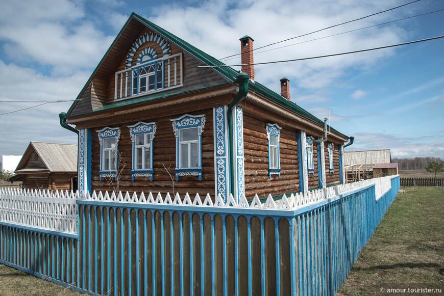 А это воссозданная усадьба татарского мельника.