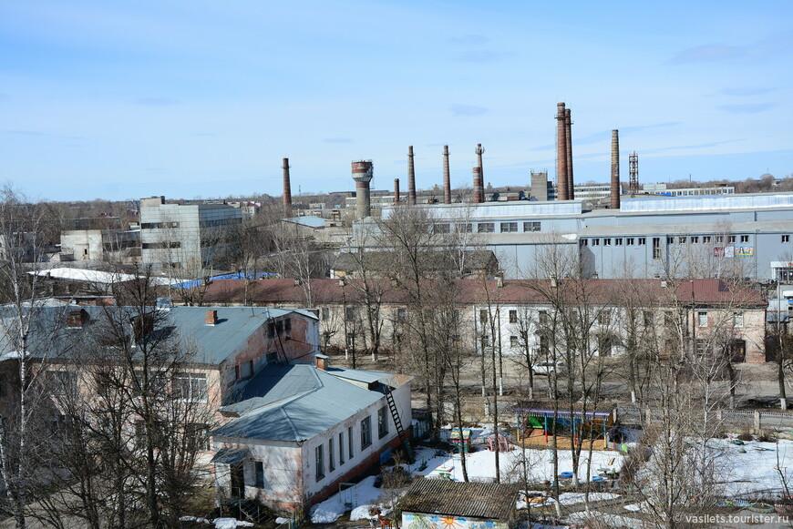 Гусевский хрустальный завод, в нем работает лишь один цех