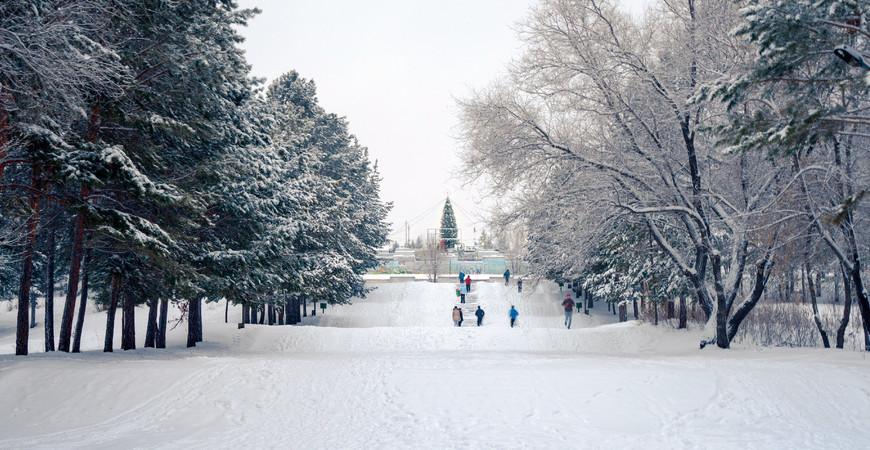 Советский парк культуры и отдыха в Омске
