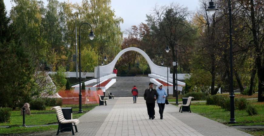 Парк «Черное озеро» в Казани