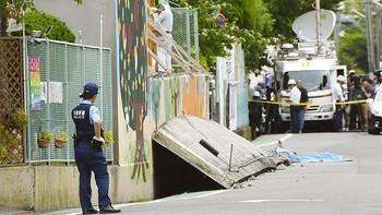 Два землетрясения в Японии: есть жертвы, аэропорт Осаки закрыт