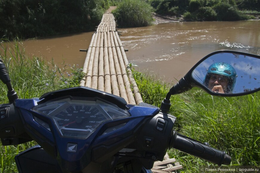 Мост через реку Нам Ха недалеко от города Луанг Намтха