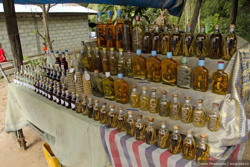 Домашний виски в деревне Бан Сангхай