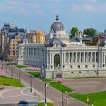 Дворцовая площадь в Казани