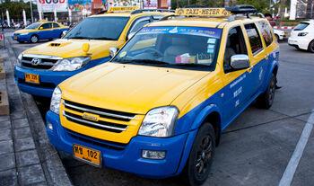 Такси в аэропорту Чиангмая
