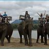 День 1. Луангпрабанг. Катание и купание на слонах.