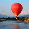 Воздушный шар над Ванг Вьенгом
