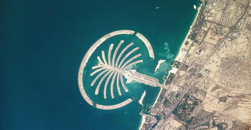Пляжи Palm Beach Jumeirah
