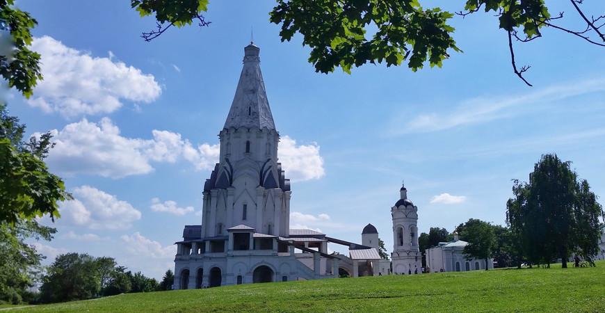 Церковь Вознесения Господня в Коломенском в Москве