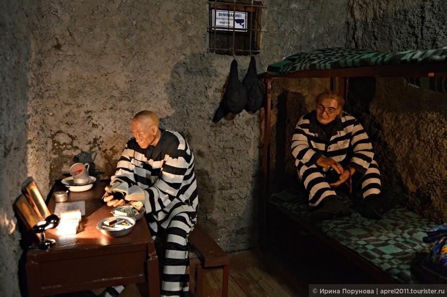 """Экспозиция """"Тюремная камера"""" в Музее тюремного искусства"""