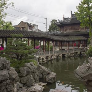 Сад Юй Юань или Неторопливый отдых в Шанхае