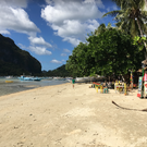 Пляж Коронг