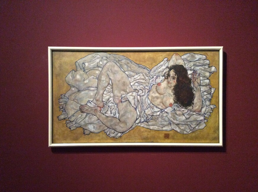 Эгон Шиле в Музее Леопольда. Фото Юлии Абрамовой
