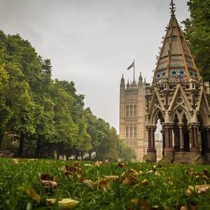 Buxton Memorial Fountain в Victoria Tower Gardens был заказан депутатом Чарльзом Бакстоном и был посвящен его отцу Томасу Фоуэлу Бакстону. Первоначально он был построен на Парламентской площади.