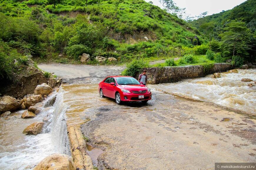 Горная дорога в Чьяпасе.