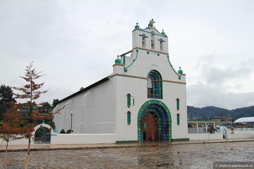 Церковь Святого Хуана Баутиста. Деревня Сан Хуан Чамула
