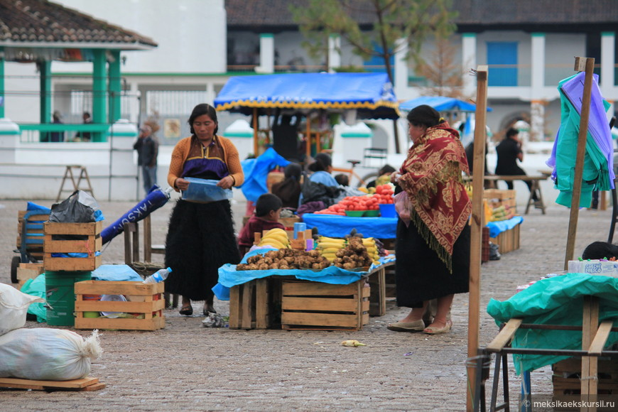 Местные жители Сан Хуан Чамула