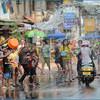Празднование Лаосского Нового года в Луангпрабанге