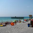 Пляж пансионата «Гренада»