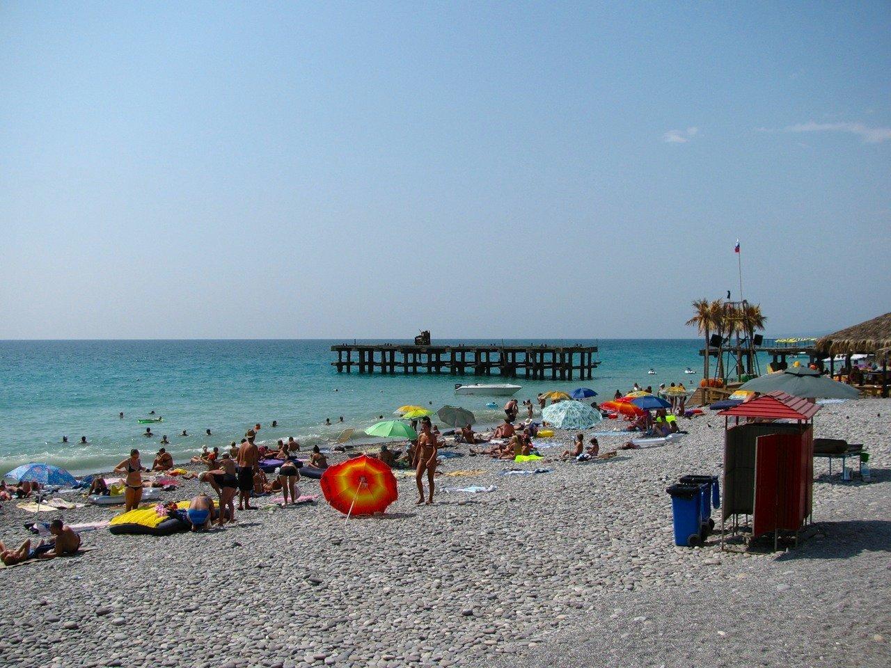 пляж пансионата гренада