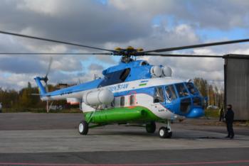 Узбекская национальная авиакомпания предлагает туристам прогулки на вертолётах