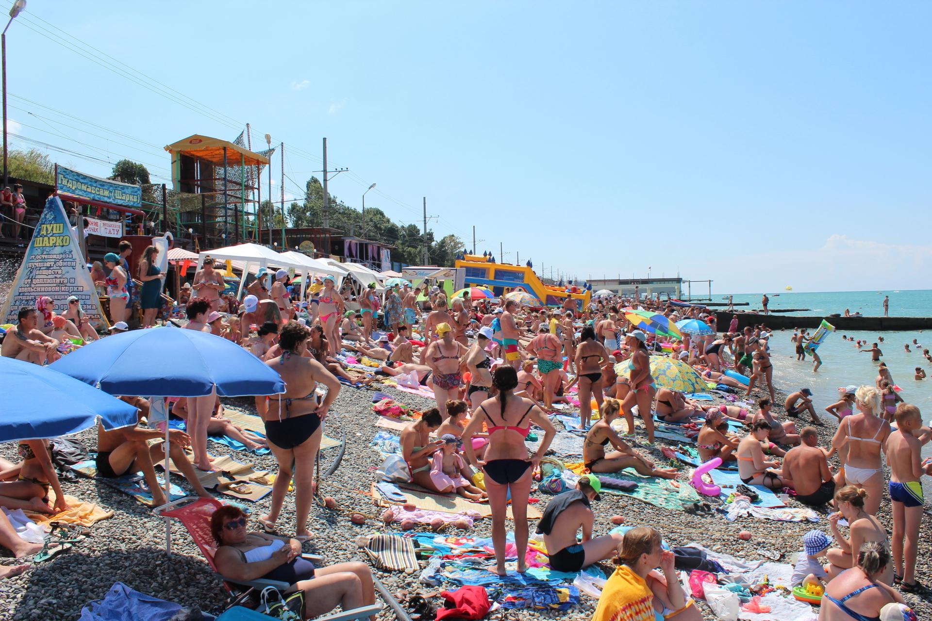 адлер курортный городок пляжи фото этот