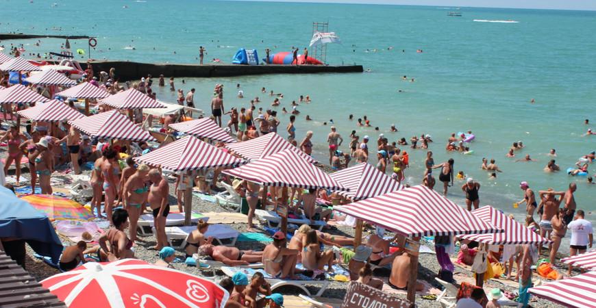 Пляж «Южный-2» в Адлере