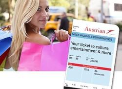 Посадочный талон «Austrian Airlines» дает возможность сэкономить