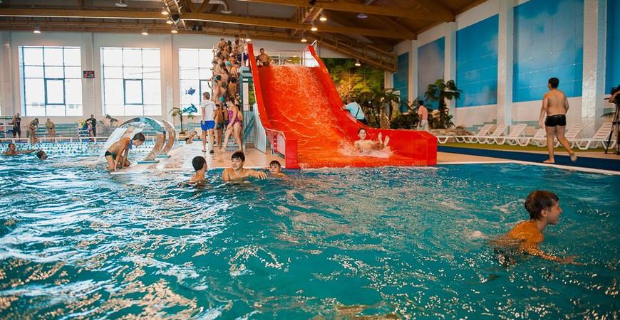 Спорткомплекс и аквапарк «Звездный» в Астрахани
