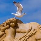 Фестиваль песчаных скульптур в Остенде