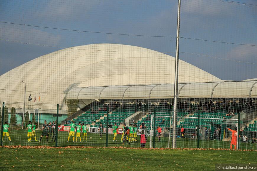А это одно из 26-футбольных полей.