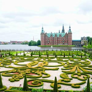 Хиллерёд. Замок Фредериксборг