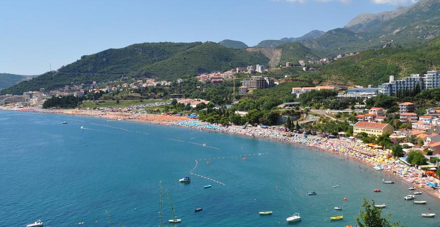 Пляж Бечичи (Plaza Becici)