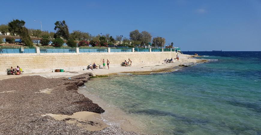 Пляж Сент Томас Бэй