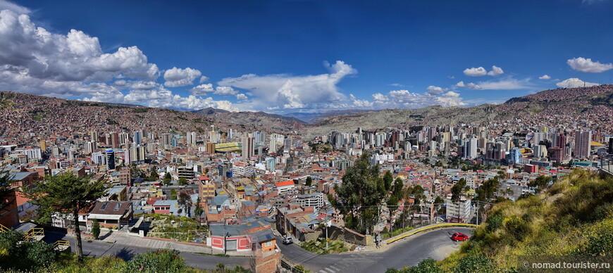 Вид на Ла-Пас со смотровой площадки Killi-Killi (снято на Никон )))))
